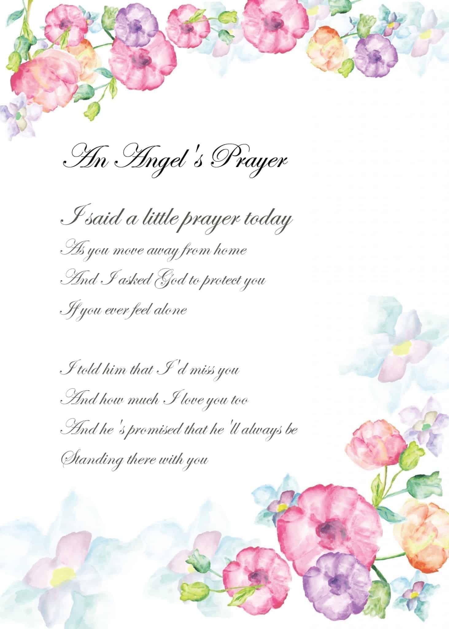 An Angel's Prayer AP8 Home