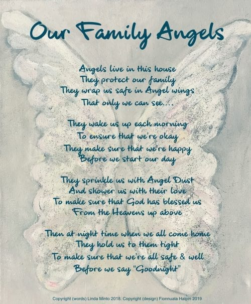 Family Angel Card