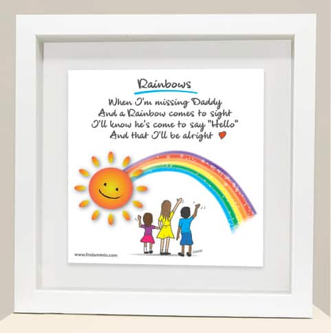 Rainbow Daddy frame