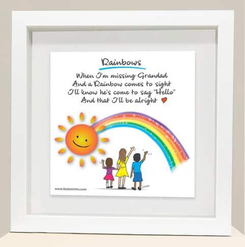 Rainbow Grandad frame
