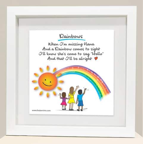 Rainbow Nana frame